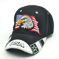 Baseball cap usa flag embroidery snapback casual casquette 🧢myalleshop