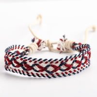 Hand Made Rope Bracelet Chain Necklaces toy Vintage Charms Rope Bracelets #HY429