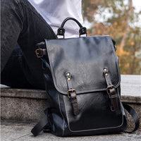 Travel backpack in 100% genuine leather 🔥myalleshop