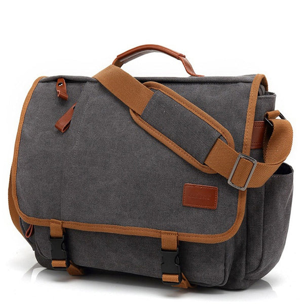 Vintage Canvas Briefcase Men Laptop Suitcase Travel Handbag  Bags  Bags Shoulder Bag