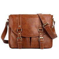 Men Briefcase Shoulder Bags Travel Bag pu Leather Men's Messenger Bag Male Business Men Business Briefcase Vintage Handbag
