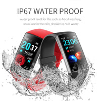IP67 Water Proof Unisex watch LED color screen Smart bracelet I Waterproof watch with heart rate monitor