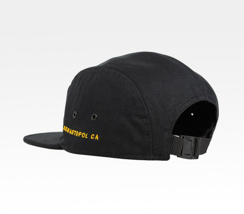 Ramen Gaijin Camper Flatbill Hat Sebastopol Sonoma County Northern California Local Merchandise Travel Agent Apparel