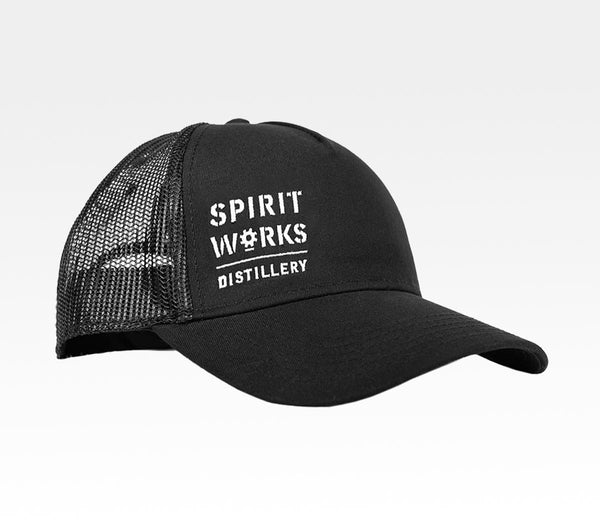 Spirit Works Craft Distillery Trucker Hat Local Sebastopol The Barlow Northern California Merchandise Travel Agent Apparel