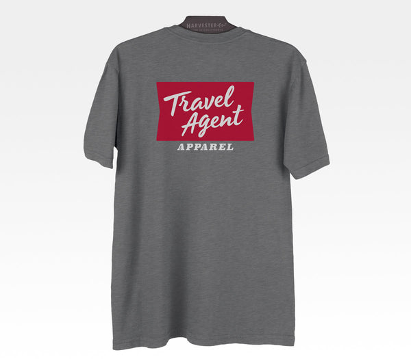 Travel Agent Apparel Local Made In California Tshirt Adventure Apparel Destinations