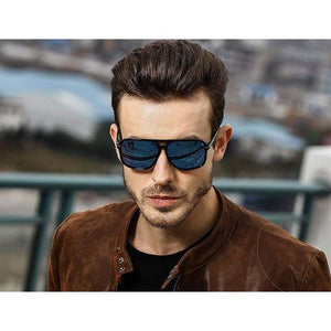 Aviator Sunglasses - JACK Square Aviation Polarized Sunglasses