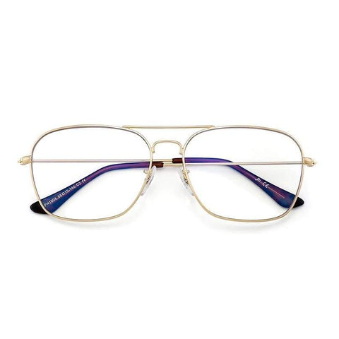 Blue Light Eyewear - BERNIE Aviator Blue Light Blocking Glasses