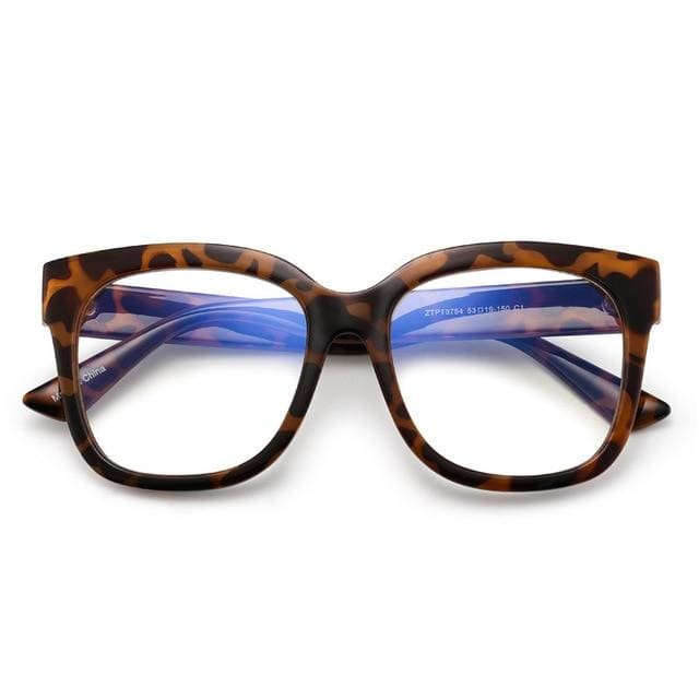 FRANKIE Blue Light Blocking Glasses - Tortoise - Blue Light Eyewear