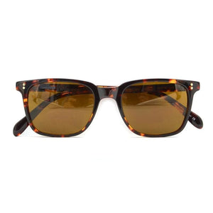 Houston Square Polarized Sunglasses - Leopard/Coffee - Fashion Sunglasses