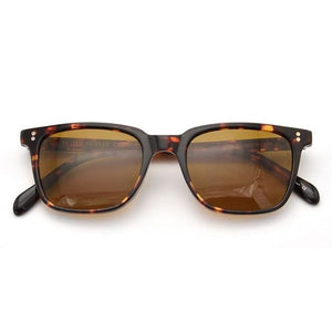Polarized Square Sunglasses - Coffee of Leopard - Men Fashion Sunglasses