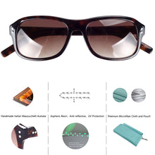 Load image into Gallery viewer, JAMES Square Sunglasses
