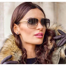 Load image into Gallery viewer, SAFARI Aviator Sunglasses - Fashion Sunglasses