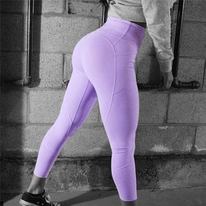 Vivd Sexy Push Up Leggings - Light Purple 003 / S - Women Workout Leggings