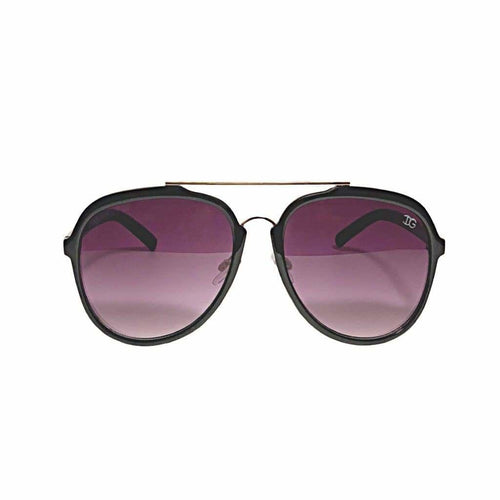 Vivid IG Aviator Fashion Sunglasses - Black Frame / United States - Women - Accessories - Sunglasses