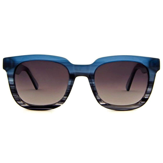 Women - Men - Accessories - Sunglasses - Simma Fashion Sunglasses Ocean-Blue Acetate Frame Eyewear