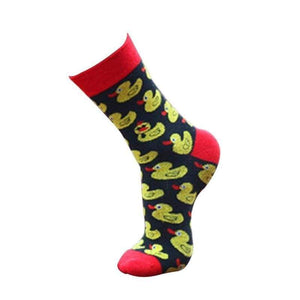 Women's Socks - DUCK Fun Women's Crew Socks
