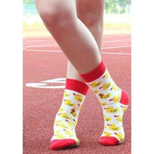 Load image into Gallery viewer, Women's Socks - DUCK Fun Women's Crew Socks