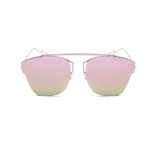 Women Sunglasses - RUBY Cat-Eye Metal Fashion Sunglasses