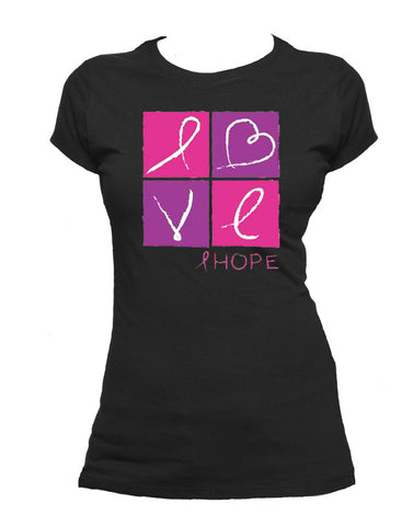 Breast Cancer LOVE T-shirt