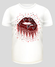Load image into Gallery viewer, Football Team Lips T-Shirt