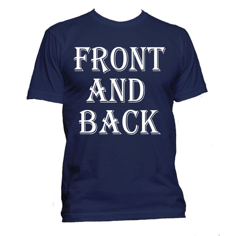 T-Shirt (Female Front & Back)