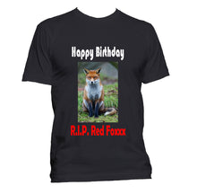 Load image into Gallery viewer, Custom T-Shirt with Photo and Words