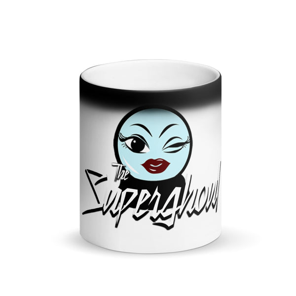 The Superghoul Matte Black Magic Mug