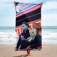 Summertime Slashers Beach Towel