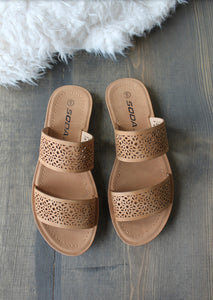 TAN DREAM SANDAL