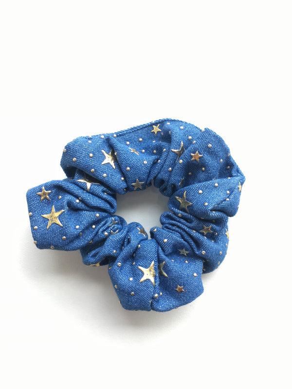Denim Scrunchie