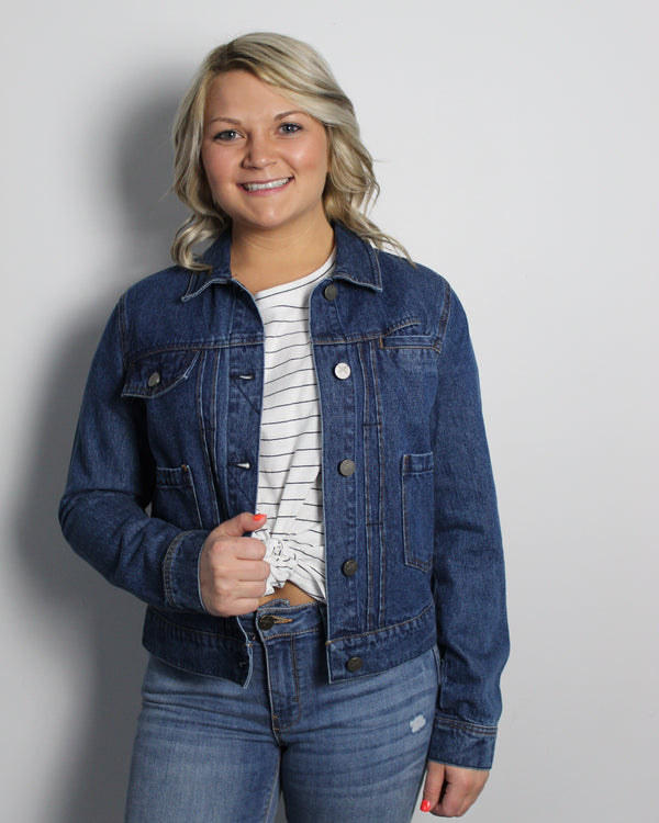 Betty Classic Jean Jacket