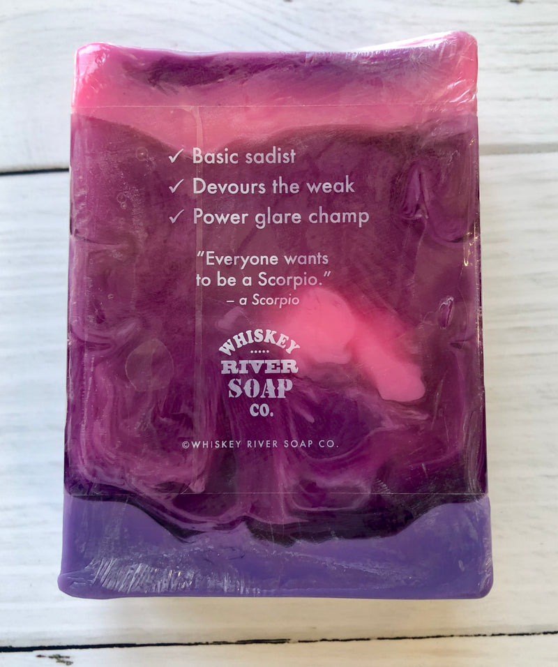 Whiskey River Astrology Soap