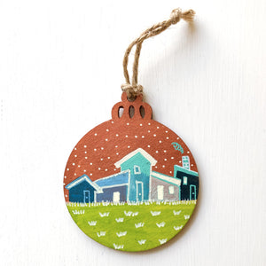Hand-Painted Christmas Ornament XXX