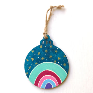 Hand-Painted Christmas Ornament XXXI