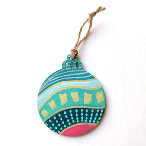 Hand-Painted Christmas Ornament XXXIII