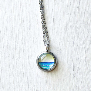 Dainty Necklace - Abstract Seas II