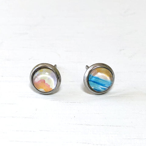 Abstract Seascape I - Tiny Studs