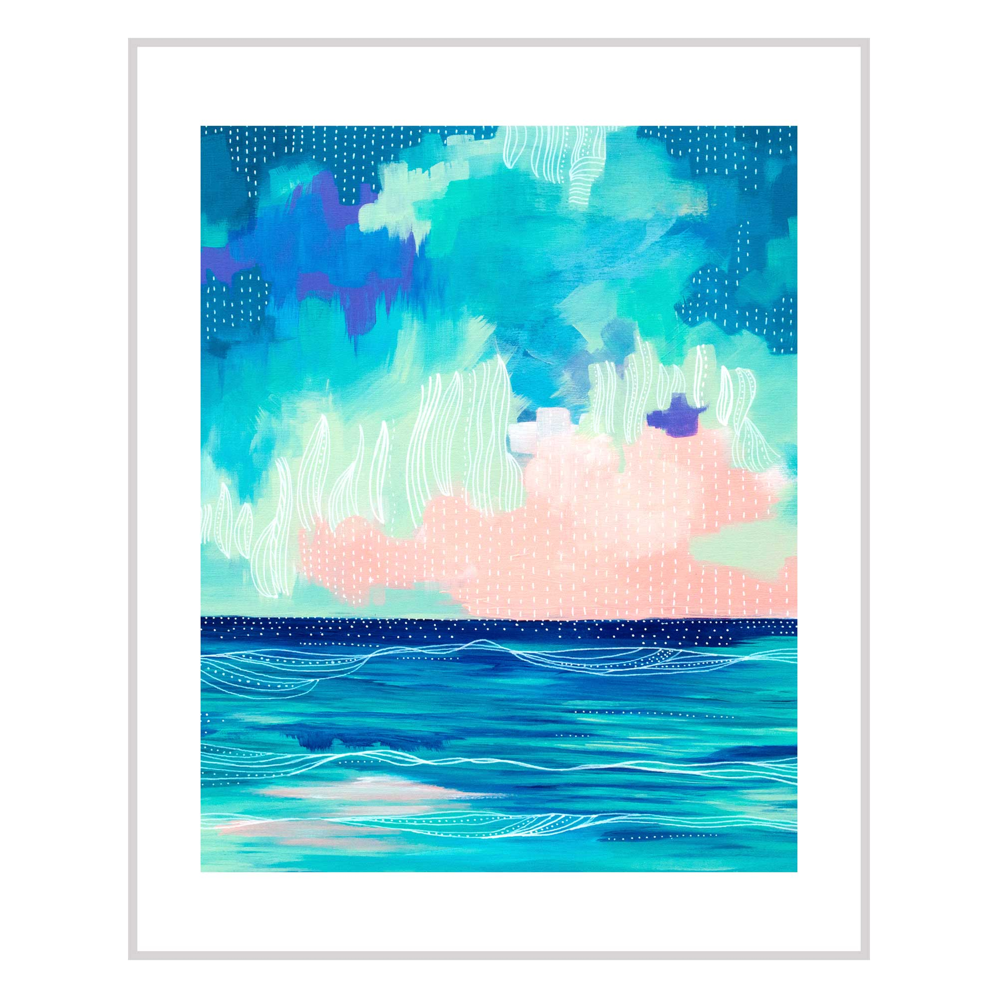 Abstract Seascape X