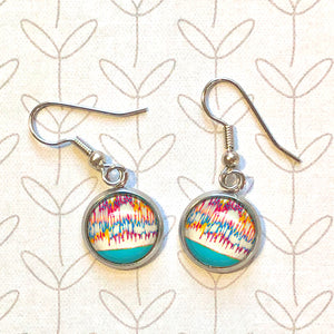 April Showers - Dangle, Stud or Leverback Earrings