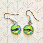 Birdie - Dangle, Stud or Leverback Earrings