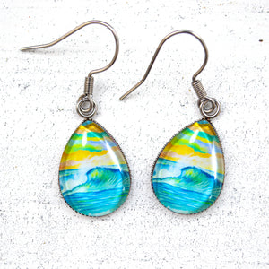 Bright Day - Stainless Steel Earrings