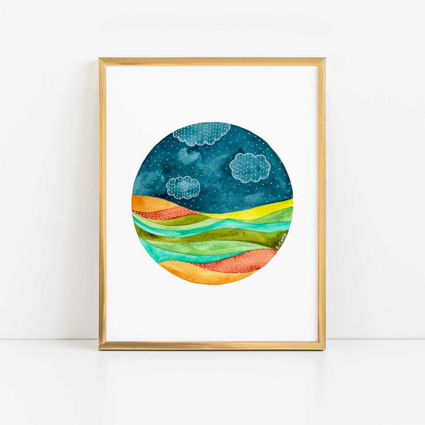 Circle Seascape II