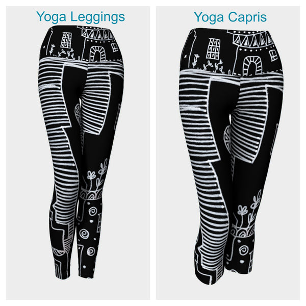 Night Town Leggings or Capris