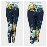 Fall Floral Leggings or Capris