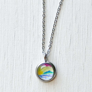 Dainty Necklace - Multicolor Ocean