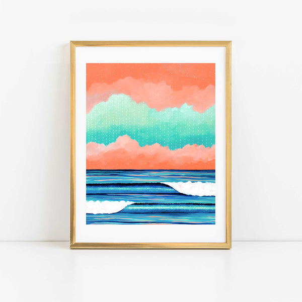 Graphic Seascape I