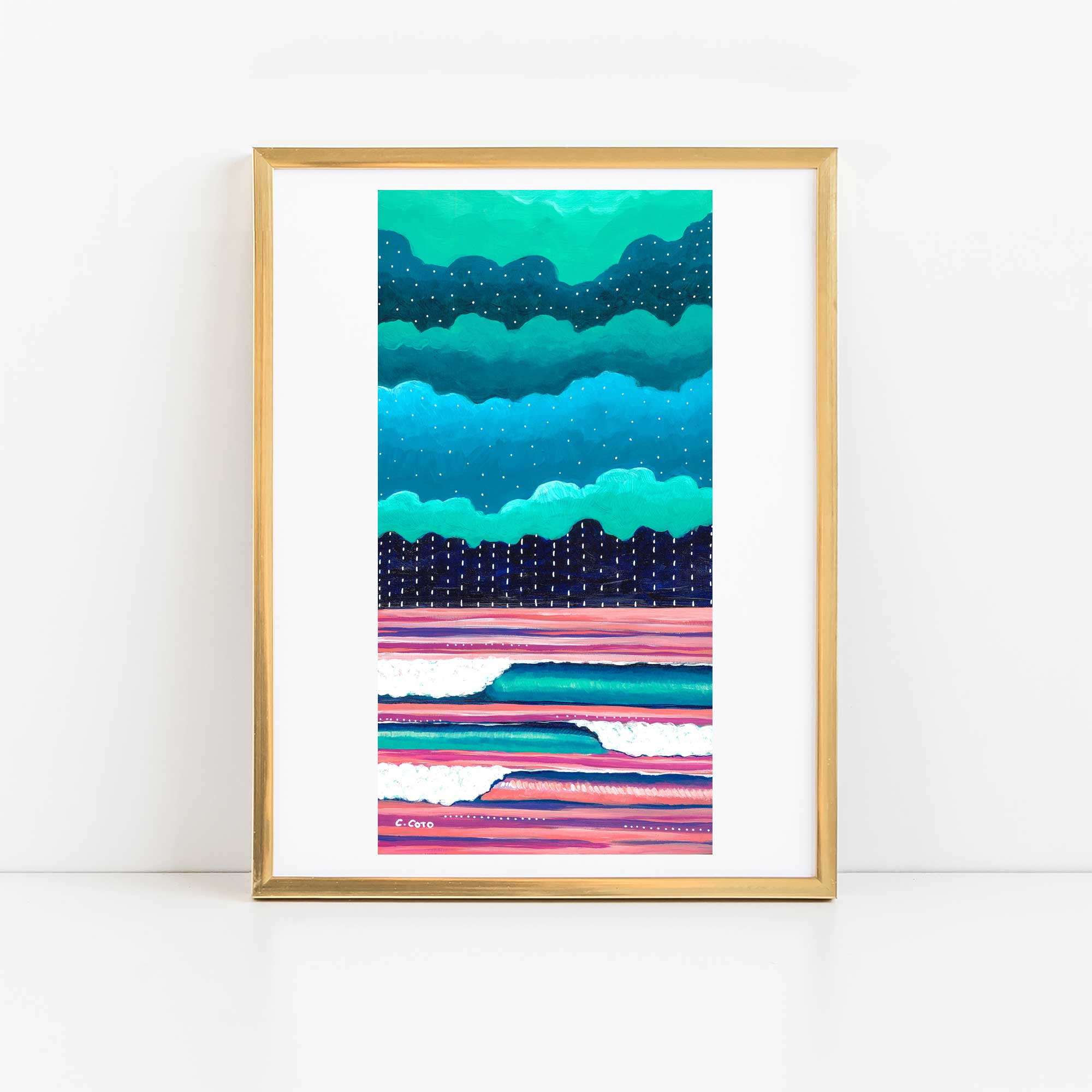 Graphic Seascape II