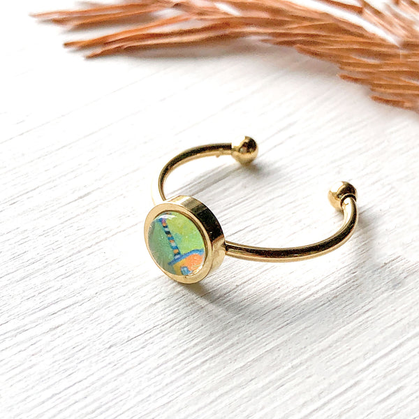 Happy Town II - Adjustable Tiny Ring