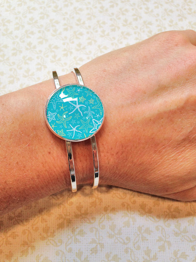 Star Fish - Hinged Bracelet