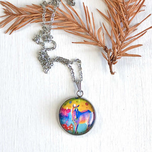 Horse - Stainless Steel Necklace